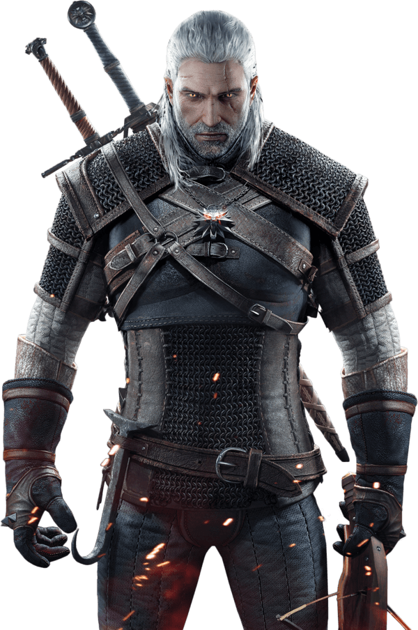 The Witcher 3: Wild Hunt - Geralt of Rivia model