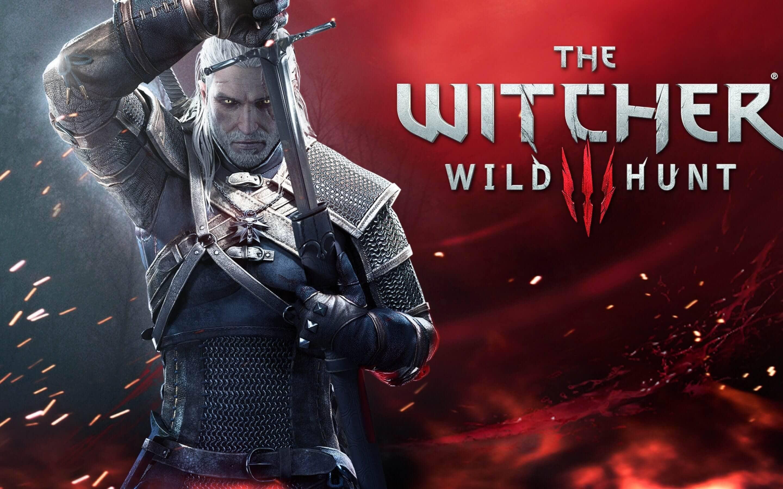 The Witcher 3 Wild Hunt Geralt Sword Wallpaper