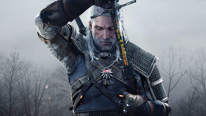 geralt of rivia - witcher 3 wild hunt