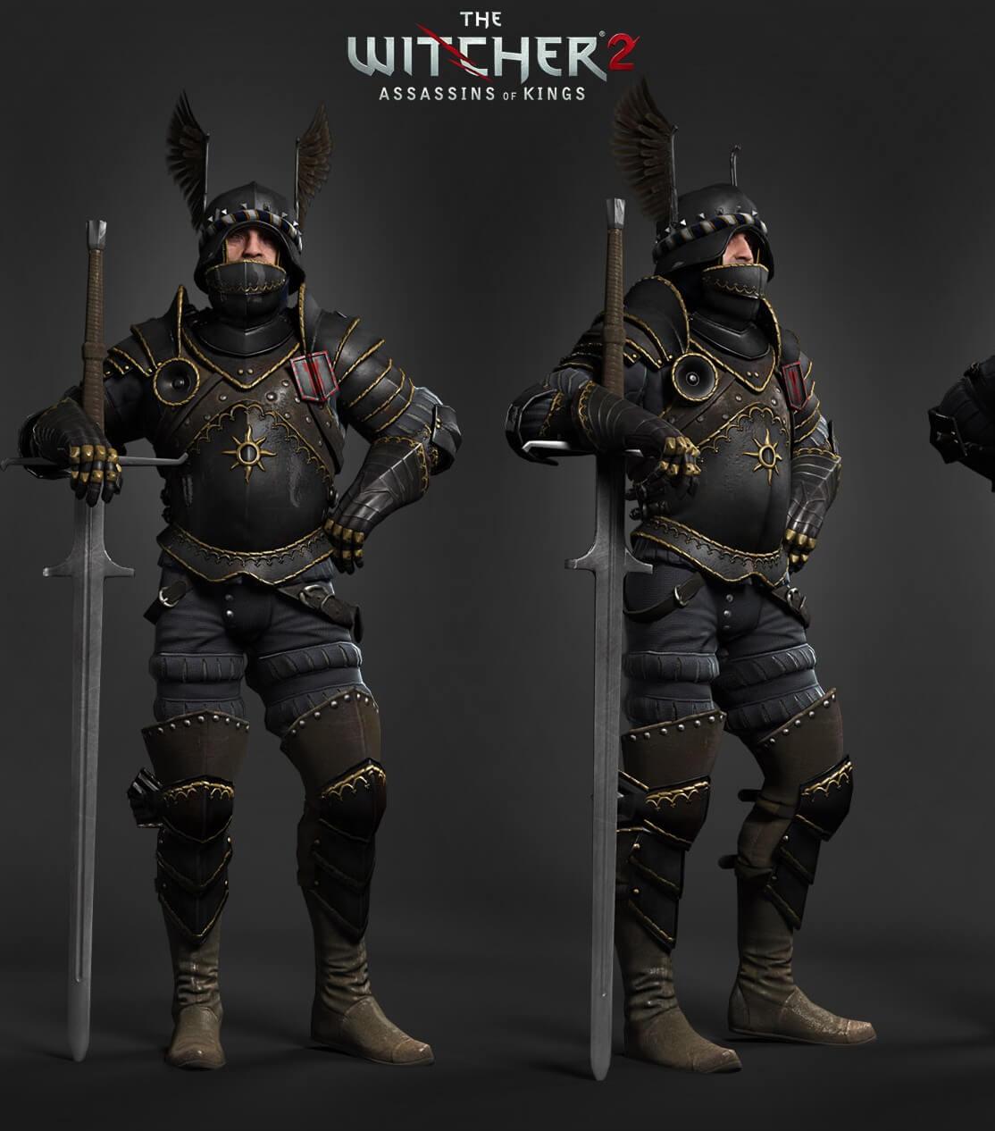 Nilfgaard Empire soldier - Witcher 3: Wild Hunt