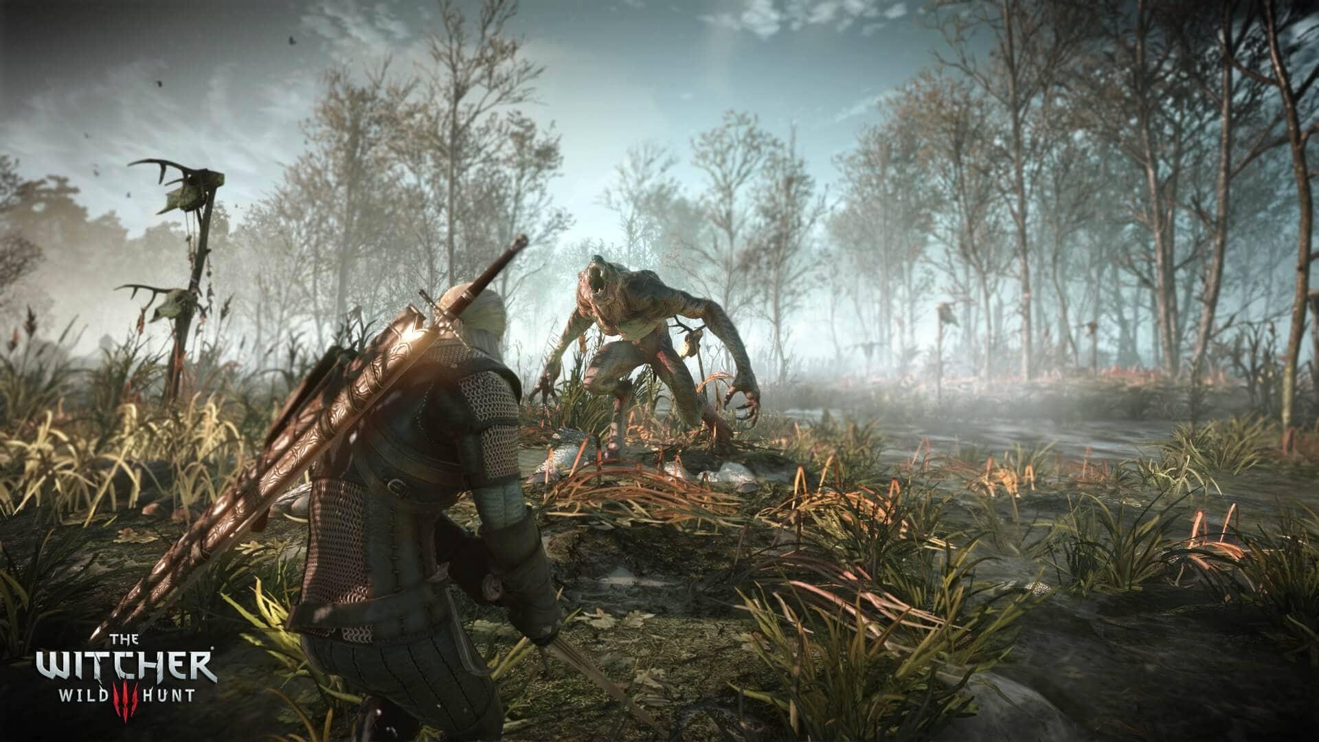 Witcher 3: Wild Hunt Werewolf Combat SS