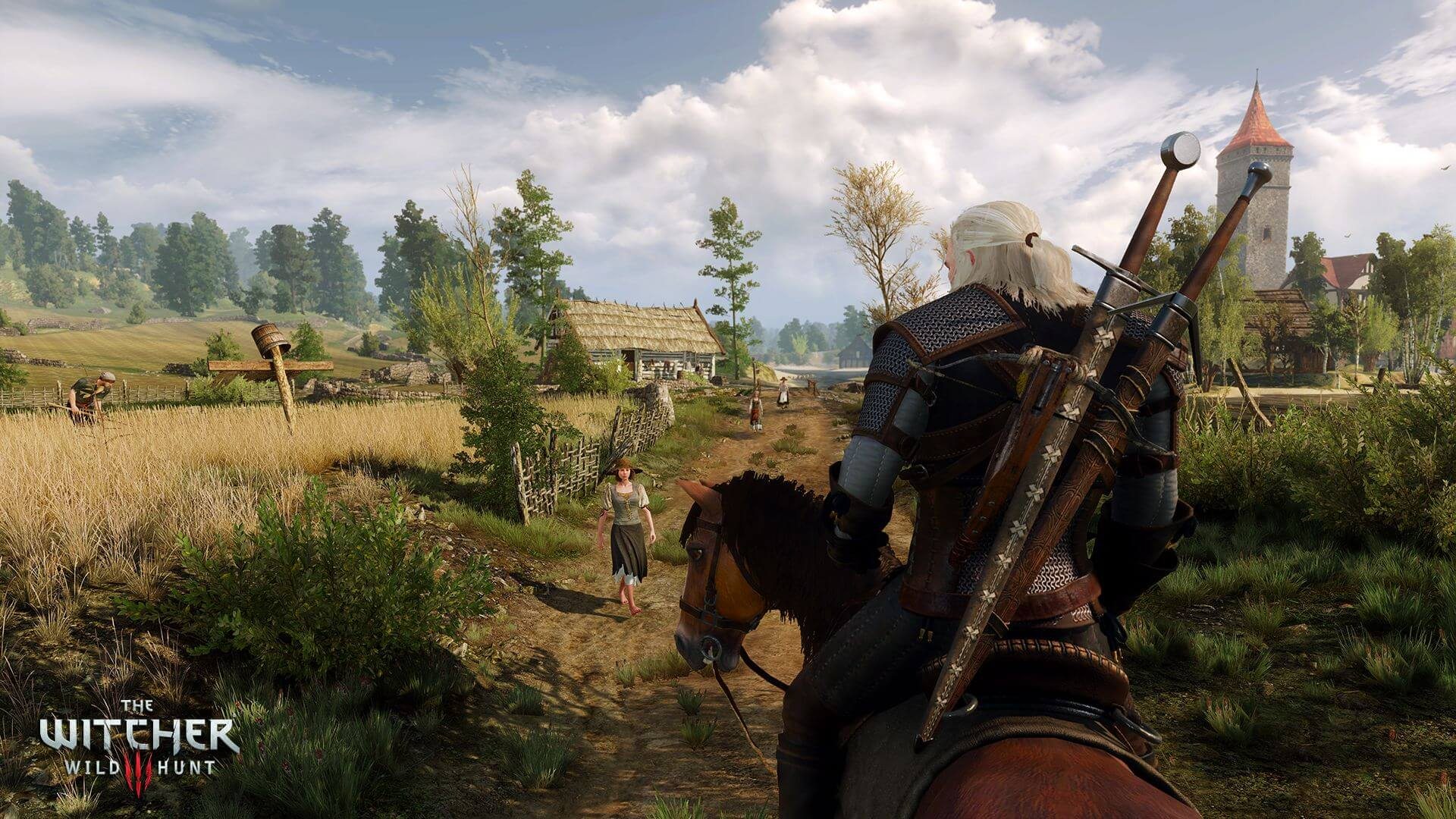 The Witcher 3: Wild Hunt Countryside Village Screenshot