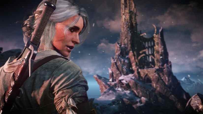 The Witcher 3: Wild Hunt Ciri Screenshot