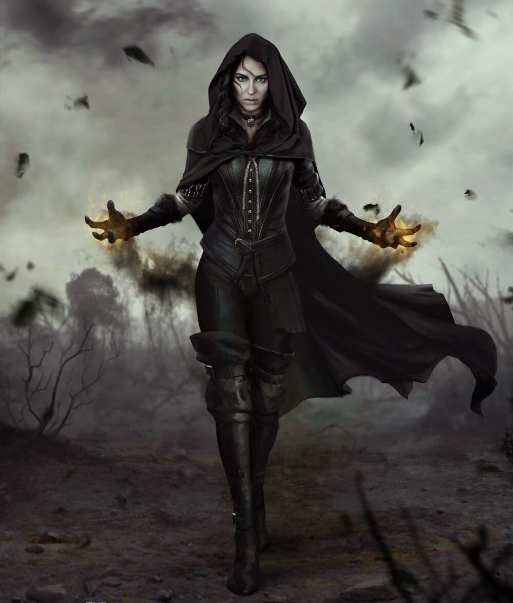 The Witcher 3: Wild Hunt Yennefer Artwork