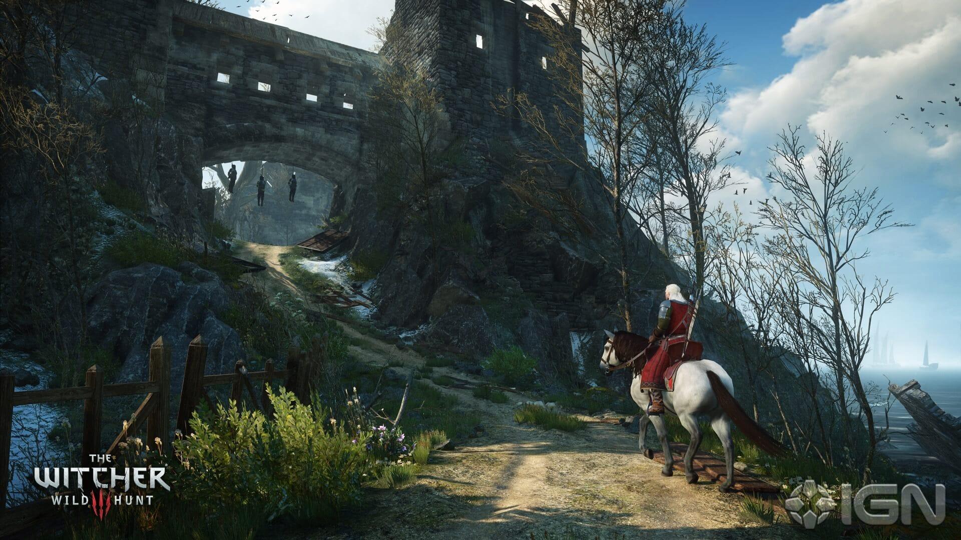 The Witcher 3: Wild Hunt Hanging Screenshot