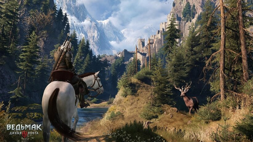 Witcher 3 Wild Hunt on Ultra Settings on the PC