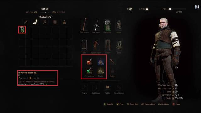 Witcher 3 Wild Hunt Alchemy