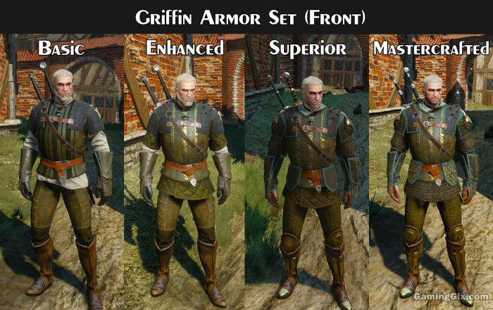 Witcher 3 griffin gear