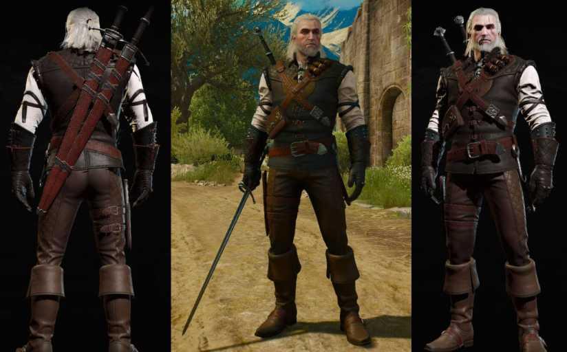 manticore witcher gear set