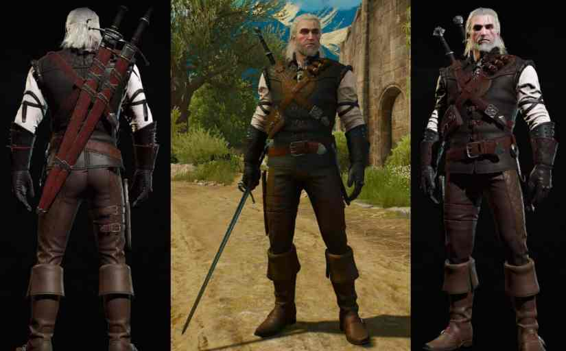 manticore witcher gear set