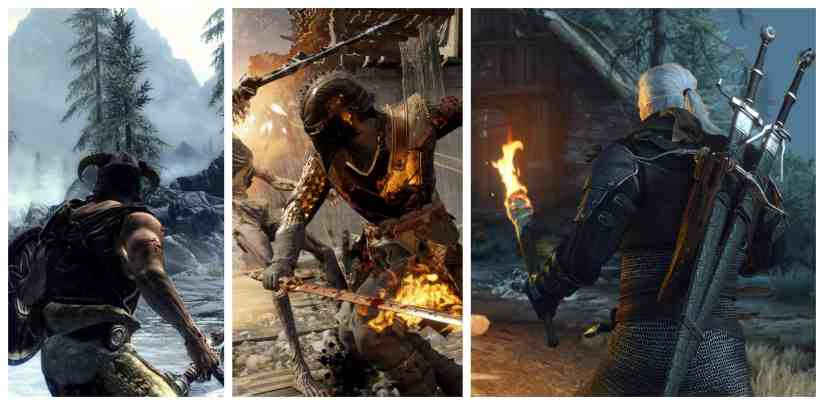 Witcher 3 like games