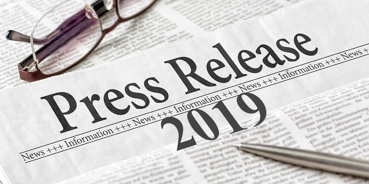 News Releases 2019
