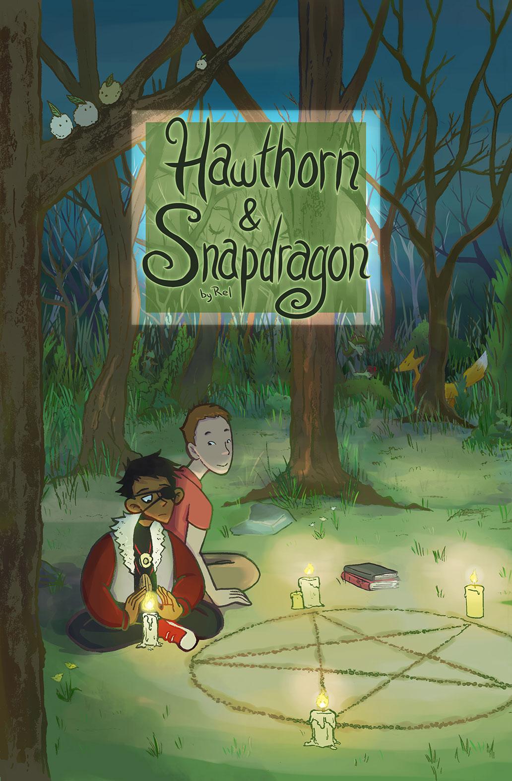 Hawthorn & Snapdragon