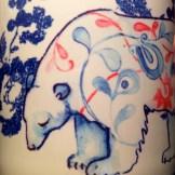 Winter Bear Printed Mug