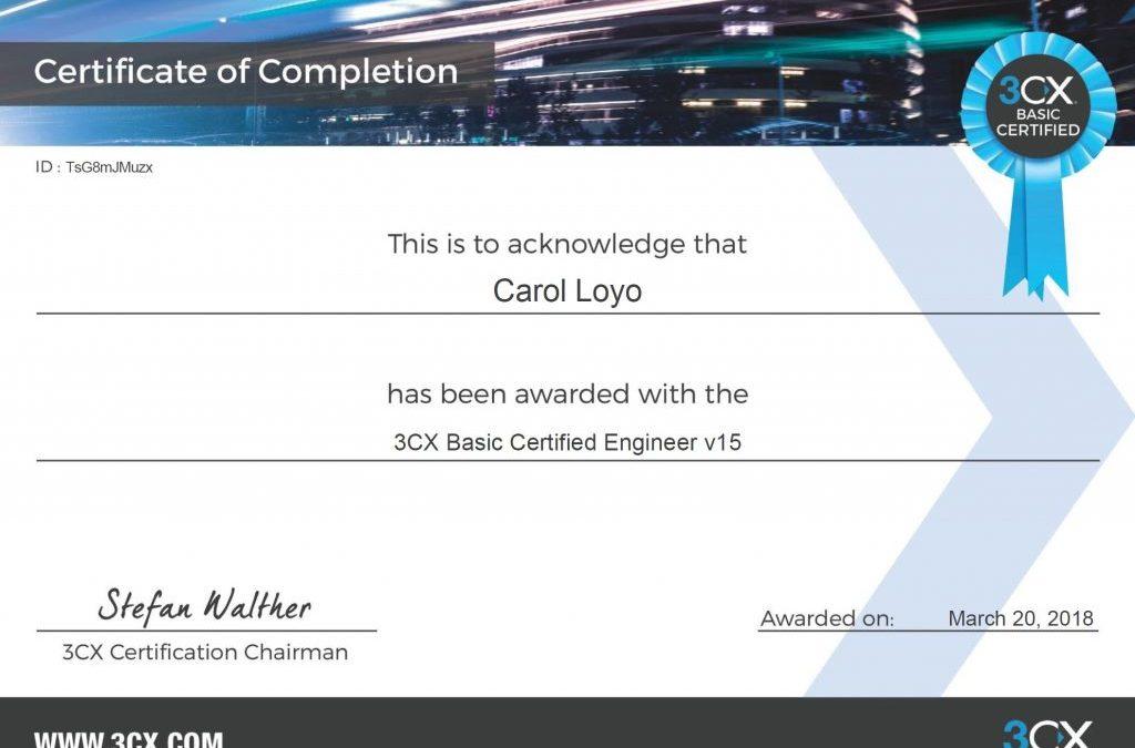 Nova Prova Gratuita de Certificação 3CX em Português