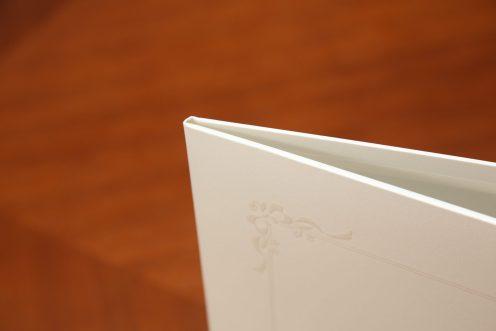 六切り台紙 パールホワイト