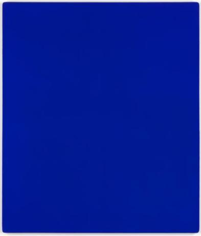 IKB 79 1959 Yves Klein 1928-1962 Purchased 1972 http://www.tate.org.uk/art/work/T01513