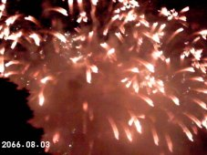 More fireworks.