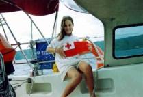 Proudly showing off my handiwork (Courtesy flag for Tonga)