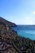 Sailboat Brio at Anchor in San Evaristo Sea of Cortez
