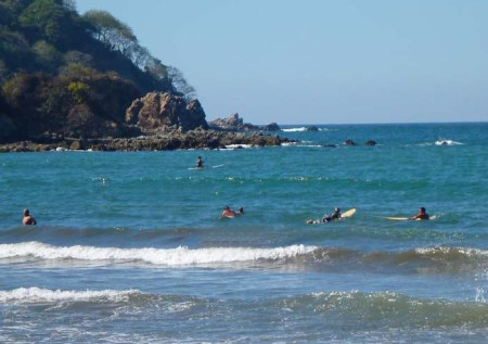 Surfing in Sayulita