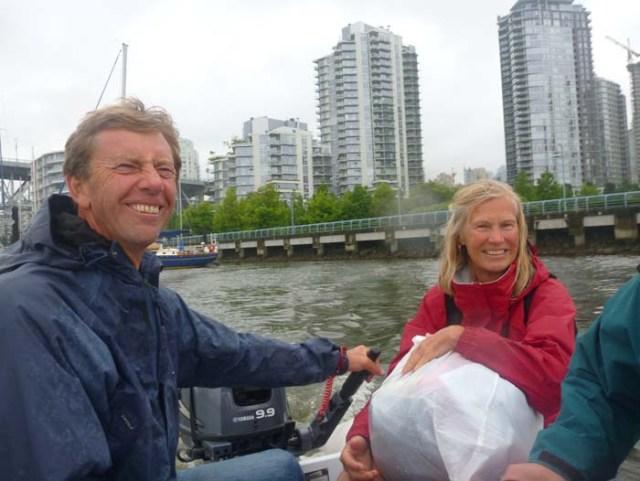 Eric and Birgitta in Vancouver