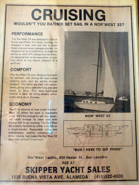 The best cruising sailboat ever designed (in our oh-so-humble opinion): the Nor'West 33