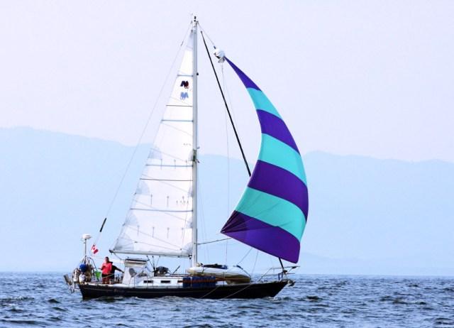 Nor'West 33 BRIO under sail to Acapulco