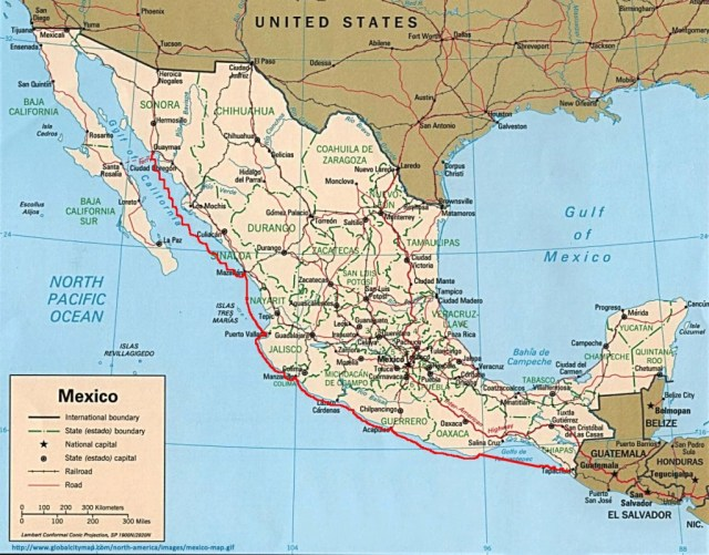 Brio's Journey through Mexico - 2013