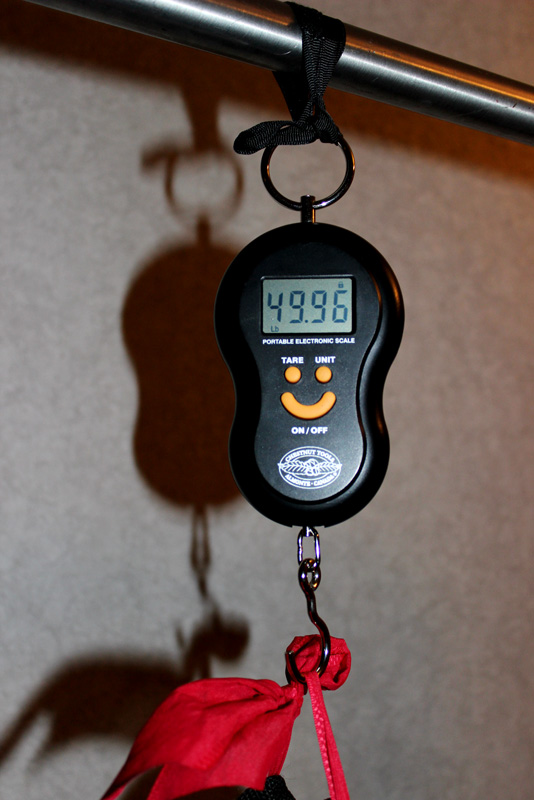 Lee Valley's $12 luggage scale is my favourite purchase ever