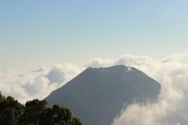 Volcano peak, El Salvador