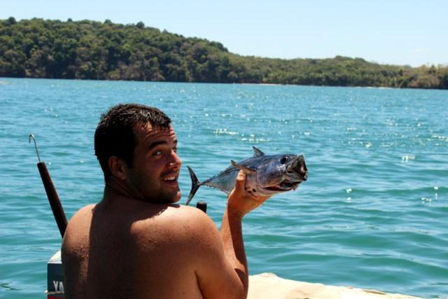 Catch of the day -- tuna