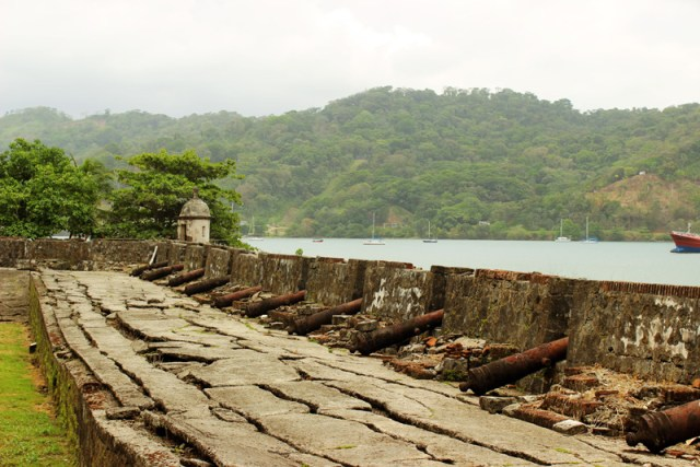 Fort at Portobelo, Panama