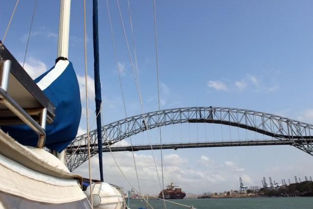 Bridge of Americas -- Panama Canal Transit