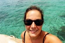 Loving the water! San Blas Islands