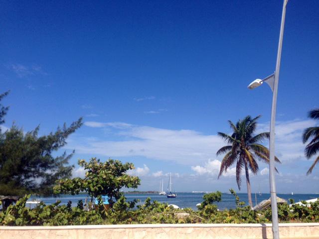 Brio at anchor in Isla Mujeres, Mexico