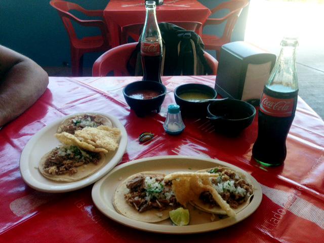Tacos in Isla Mujeres, Mexico