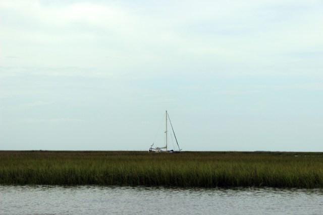 Brio anchored in McClellanville South Carolina