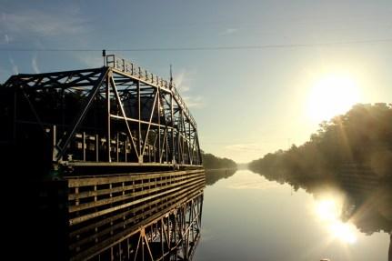 Waccamaw River on the Intracoastal in South Carolina