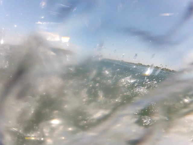 This is why you have a waterproof camera for your kite aerial photography!
