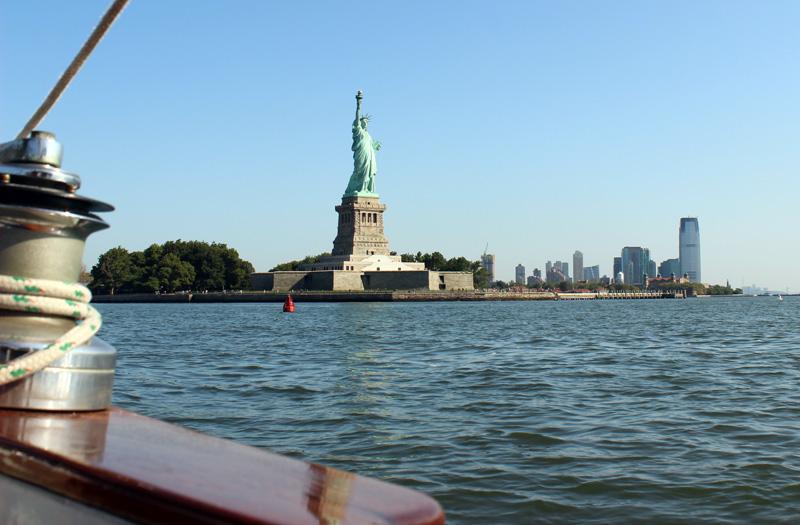 Lady Liberty herself