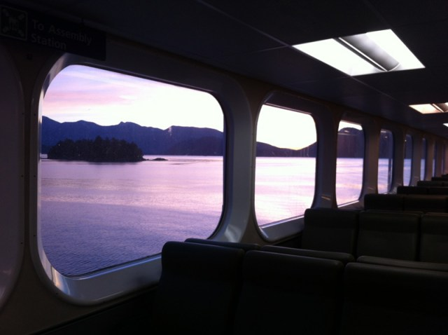BC Ferries - Early Morning Sunrise