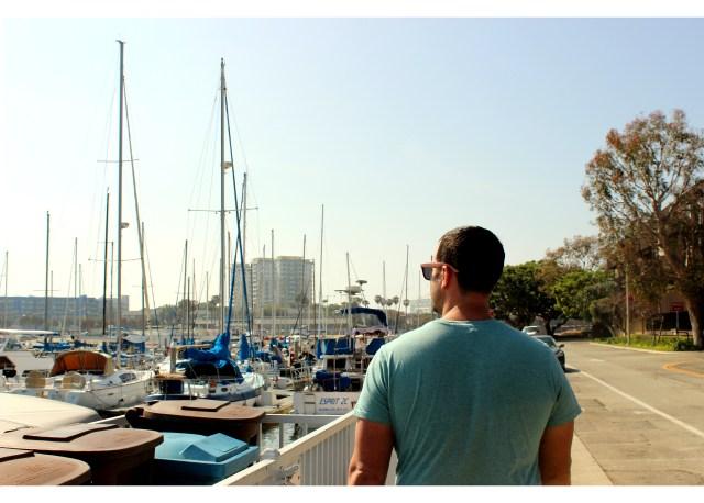 Jon at Marina del Rey
