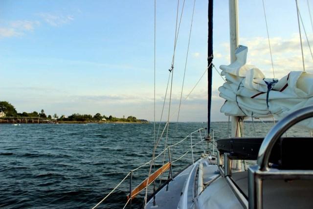 Casco Bay anchorage