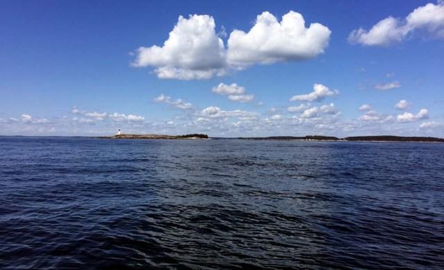 Sailing into Penobscot Bay