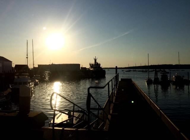 Sunrise at Journey's End Marina