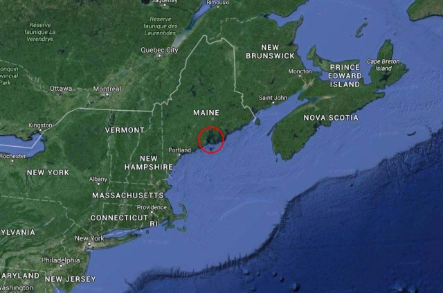 A geography lesson - where is Penobscot Bay?