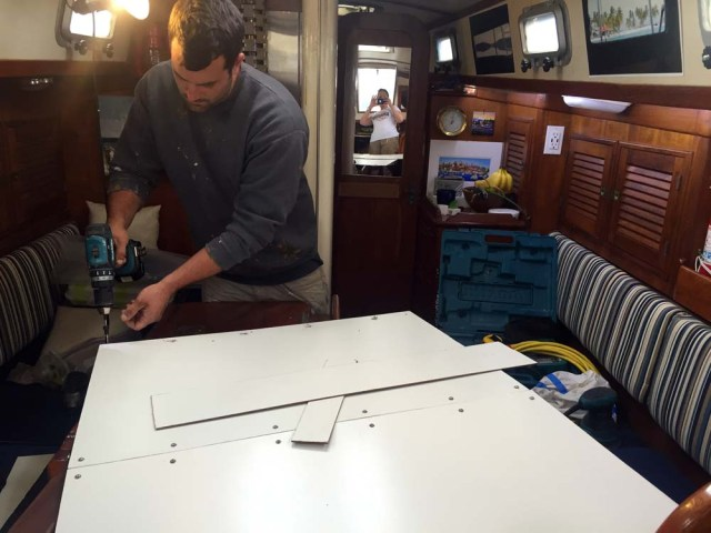 Big projects on small boats