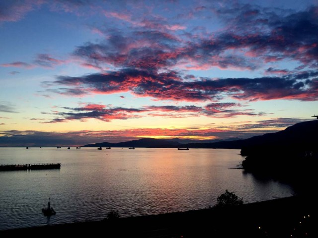 Those West Coast sunsets