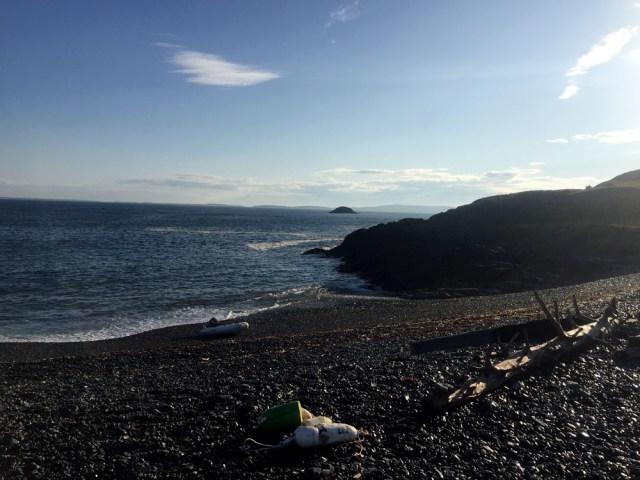 Brimstone Island, Penobscot Bay, Maine - Dinghy Landing
